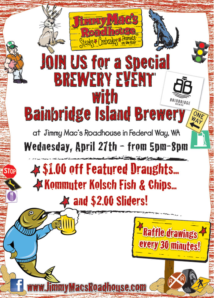 Bainbridge Island Brew Night- Federal Way